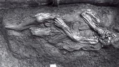 The Borremose woman was found in 1948 and was the third bogbody found in the Borrefen in a three year period. Ancient History, Archaeology, Lion Sculpture, Statue, Period, Third, Woman, Sculptures