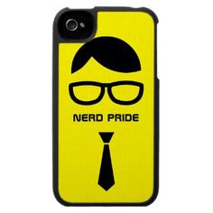 Nerd Pride Funny iPhone4 case by BluePlanet