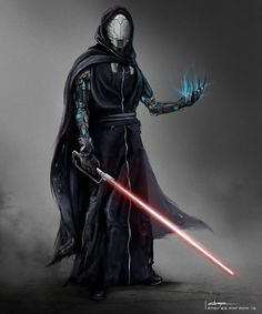 Sith by concept designer Andres Parada Star Wars Sith, Rpg Star Wars, Clone Wars, Star Trek, Star Wars Characters Pictures, Images Star Wars, Star Wars Pictures, Darth Revan, Anakin Vader