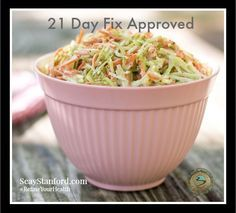 21 Day Fix Approved lunch ideas (my kids loved the slaw recipe on this page and it's so quick and easy! 21 Day Fix Menu, 21 Day Fix Snacks, 21 Day Fix Meal Plan, Clean Eating Recipes, Lunch Recipes, Healthy Eating, Cooking Recipes, Healthy Recipes, Healthy Meals