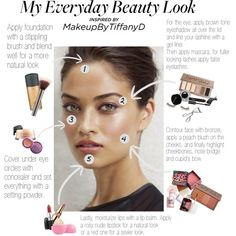 """""""My everyday makeup"""" by jennaleen"""