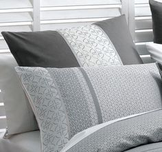 Deco Takara European Pillowcase Charcoal Quilt Cover, Bed Pillows, Pillow Cases, Charcoal, Deco, Home, Pillows, Futon Covers, Decoration