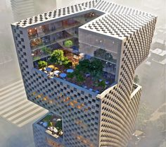 Snøhetta just won a competition to design the headquarters of Banque Libano Francaise in Beirut.
