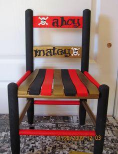 Ahoy Matey chair - love it! #PrimroseReadingCorner