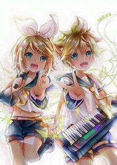 Rin y Len de verdad me encantan estos hermanos