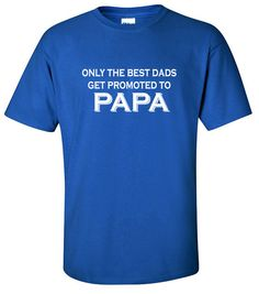 Dad Gifts  Promoted to Papa  Gifts for Dads  Presents for