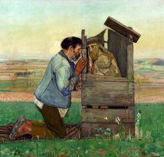 Confession by Vlastimil Hofman,1906, Muzeum Narodowe w Warszawie (MNW)
