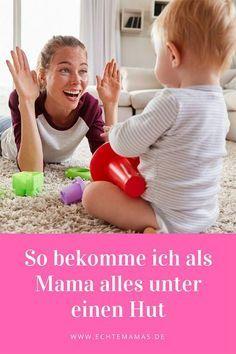 ICH BIN EINE MAMA, DIE ALLES UNTER EINEN HUT BEKOMMT. ABER, PSST, SCHAUT MAL, WIE DAS GEHT. Foto ©️️ Bigstock #mamaleben #mamatipps