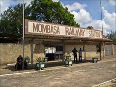 Mombasa Railway Station Mombasa Kenya, Nairobi, East African Community, Historical Photos, Tanzania, Colonial, South Africa, Coastal, National Parks