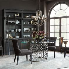 The Naomi Dining Table is sure to make an impression on your guests.