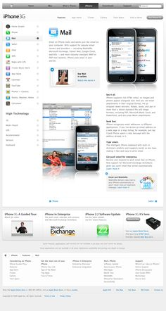 Apple - iPhone - Features - Mail (07.01.2009)