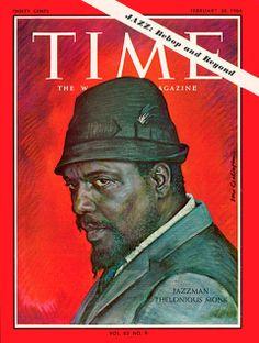 """Las mejores portadas de la prensa musical_ Time, """"Thelonius Monk"""""""