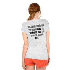 If you ask what this means, you owe me a drink tee shirt