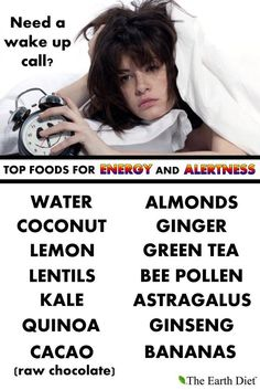 Instead of those unhealthy energy drinks!