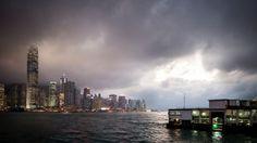 Dark skies over Hong Kong, courtesy of Thinkstock.