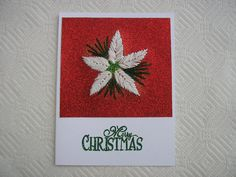 Christmas Cards Hand Stitched Embroidered by LisasPaintedCrafts