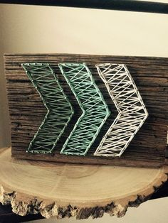Ombre Arrow String Art Made to Order by OwenberryCrafts on Etsy