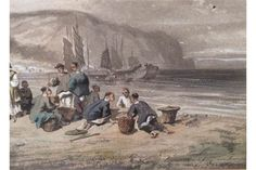 Auguste BORGET (1808-1877)  COMPARTMENT IN KOWLOON BAY