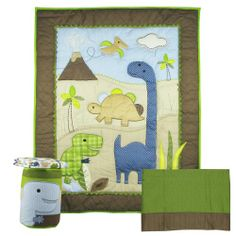 Jill Mcdonald Adorable Dino 4 Piece Crib Set Http Www