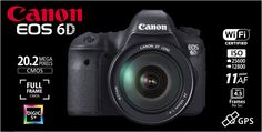 Canon EOS 6D with EF 24-105L IS USM built-in Wifi and GPS Rp.23.960.000.- | Bonus Battery LP-E6 + Backpack, Berlaku s/d 11 Agustus 2013