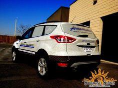 Tool supply distributor fleet vehicle wraps