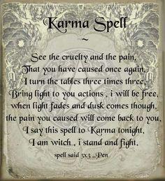 Karma Spell