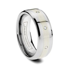Tungsten Carbide & Cobalt Wedding Bands < Lasts forever! Many styles for men and women.