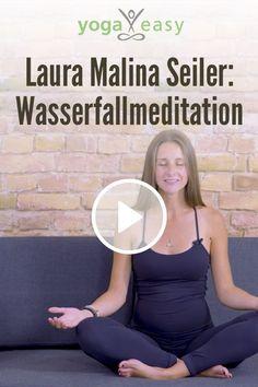 A wonderful guided waterfall meditation with Laura Malina Seiler New to yoga? Ashtanga Yoga, Yoga Bewegungen, Vinyasa Yoga, Zen Meditation, Meditation For Beginners, Mindfulness Exercises, Yoga Exercises, Meditation Exercises, Mental Training