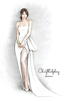 It draws in both celebrities and social networks influencers, two groups of people known for their fantastic style senses, which makes Coachella the perfect place where style trends can brew. Wedding Dress Sketches, Dress Design Sketches, Fashion Design Sketchbook, Fashion Design Drawings, Fashion Sketches, Fashion Figure Drawing, Fashion Drawing Dresses, Fashion Illustration Dresses, Croquis Fashion