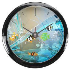 Underwater 1 Aqua Clock
