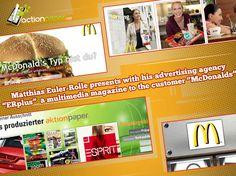 McDonald's Advertising Agency, Magazine, Digital, Neckline, Magazines, Warehouse, Newspaper