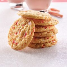 Sparkling Peppermint Cookies