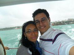 Passeio de barco em Salvador. (2011)