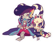 Chibi Fox & Goemon