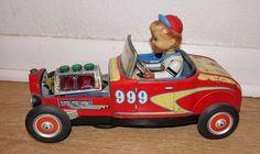 1932 Ford Roadster Hot Rod TN Nomura Vintage Toy Car