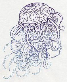 Drifting Jellyfish_image