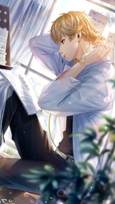 Dark Anime Guys, Anime Love, Anime Crafts, Cute Love Pictures, Anime Lindo, Anime Couples Drawings, Handsome Anime Guys, Anime Episodes, Love Dream