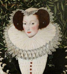 Portrait of Ann Vavasour (1560–1650) by Robert Peake, 16th century