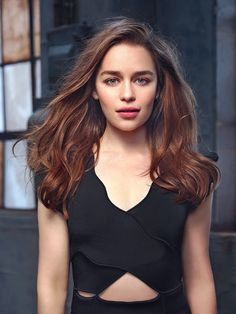 Emilia Clarke • photo by John Russo for Io Donna July 2015