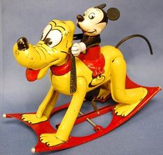 Pup Style 101 — Tin toys are so cool. All the creativity and...