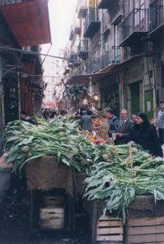 Artichoke season in Palermo