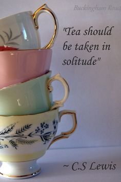 64 Super Ideas For Party Quotes Drinking Tea Time Tea Quotes, Tea And Books, Cuppa Tea, Cs Lewis, My Cup Of Tea, Tea Recipes, High Tea, Drinking Tea, Afternoon Tea