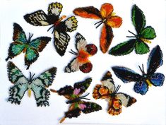 9 Australian Butterflies | Bead-Patterns.com