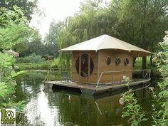 Sweet Floating Tiny House