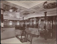 "Ships, North German Lloyd, S.S. ""Kronprinz Wilhelm"" library."