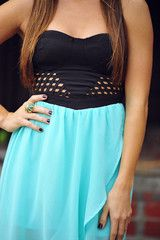 The Gate Keeper Dress: Mint