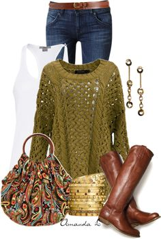 sweater, purs, paisley bag, fall outfits, louis vuitton handbags, ailunsford, crochet tops, bold colors, back to school