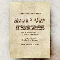 Vintage Wedding Invitation - Rustic Wedding, retro wedding shower, calligraphy wedding, printed wedding invitation pack of 25+