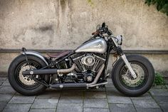 My new Harley Davidson Bobber, just finished.