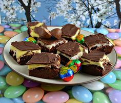 Creme Egg Brownies
